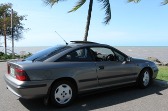 Photo of the Calibra taken at Machan's Beach, Cairns Northern Beaches.