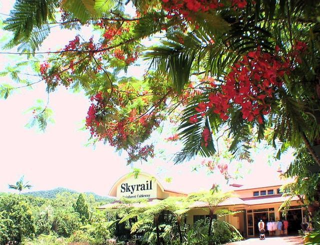 Skyrail Station, in Kuranda.