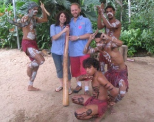 We visited Paronella Park, in Innisfail, when we moved to Cairns, Tropical North Queensland. One of our favourite shows was the Aboriginal Dance.