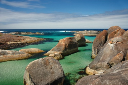 Elephant Rocks, en Australia Occidental.