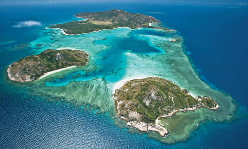 Lizard Island, north of Cairns.