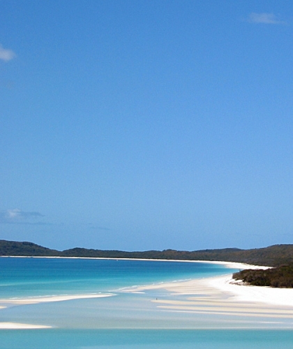 The paradise of Whitsunday Island.