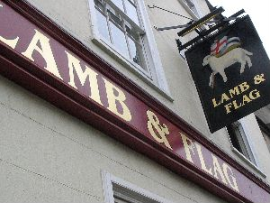 The Lamb and Flag, Oxford.