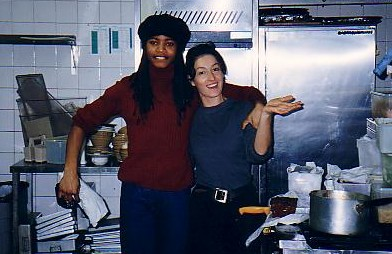 Semirah and Claudia, the sexiest pair to have ever worked in this kitchen