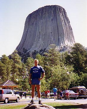 The unbelievable sight of Devils Tower, Wyoming