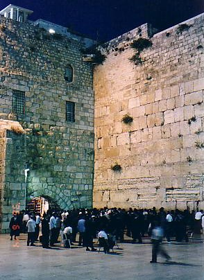 The Western Wall, or as non-jews call it, the Wailing Wall