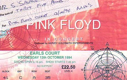 I had the opportunity to see Pink Floyd again....