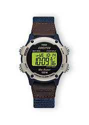 Expedition series Chrono Alarm Timer watches feature 100-hour chronograph, 100-hour countdown timer, 99-lap counter, 2 alarms, 2 time zones with date, 12/24 hour time, 24 hour countdown timer, INDIGLO night-light and all day display, NIGHT-MODE and water resistance to 100 meters.