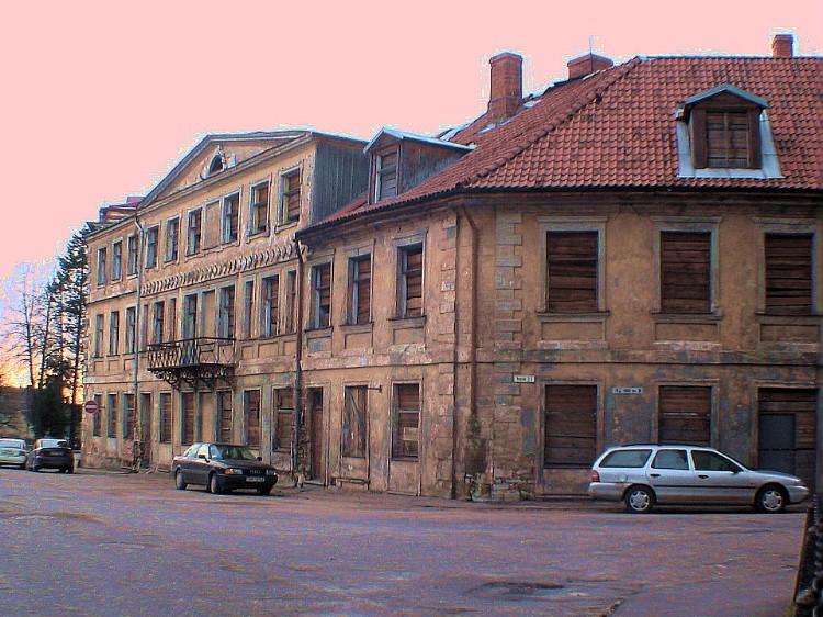 Old buildings in Cesis.