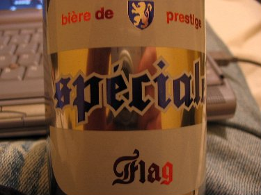 Biere de Prestige. Really doesn't feel like 'work'.