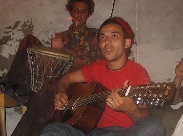 Halim and Felix jamming.