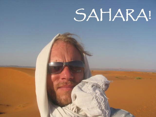 Sahara Steve!