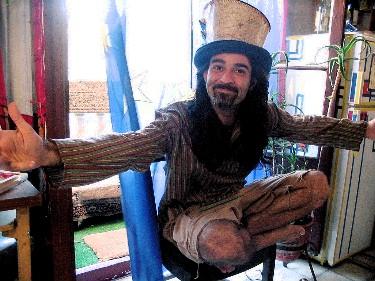 Manuel, my zany Argentinian landlord.
