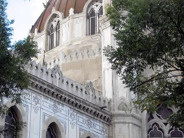 A beautiful Catholic church near El Retiro, Madrid.