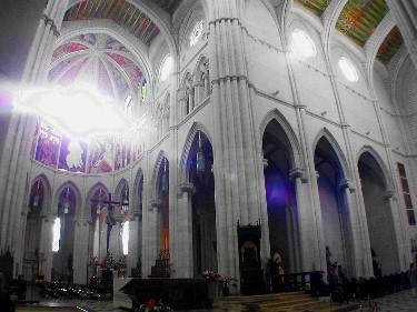 Cathedral de Nuestra Senora de la Almudena.