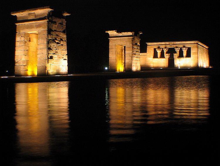 Egyptian temple, Madrid