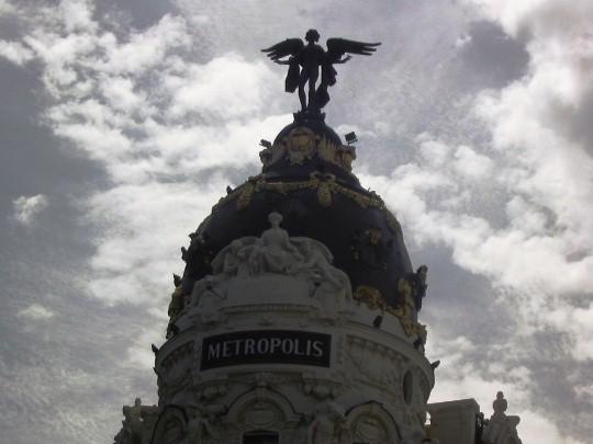 Metropolis building, near Gran Via.
