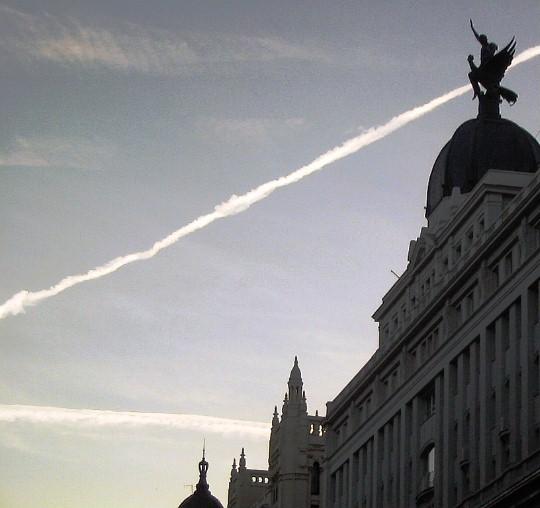 Madrid skyline, Gran Via.