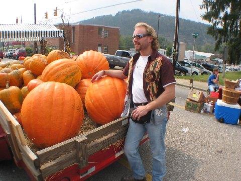 8. Gigantic pumpkins.