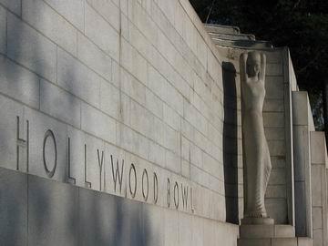 Hollywood Bowl, where I took Sara to a Beethoven symphony.