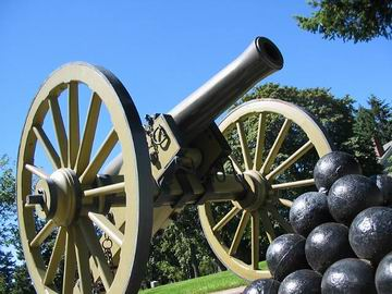 Cannon, Fort Vancouver.