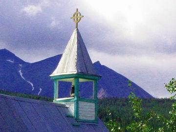 Church steeple, Carcross