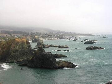 California coastline.
