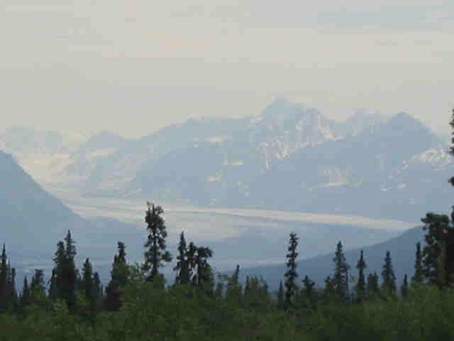 Matanuska Glacier.