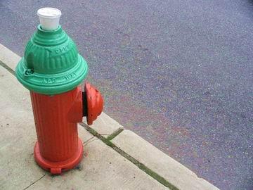 Fire hydrant, Philadelphia.