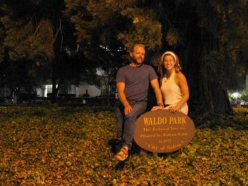 Waldo Park, the world's smallest- twelve feet by twenty feet