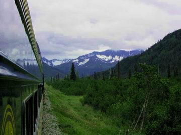 Trundling through the Alaskan wilderness