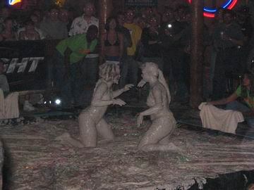 Imagine how disappointed I was when I discovered it was actually mud wrestling!