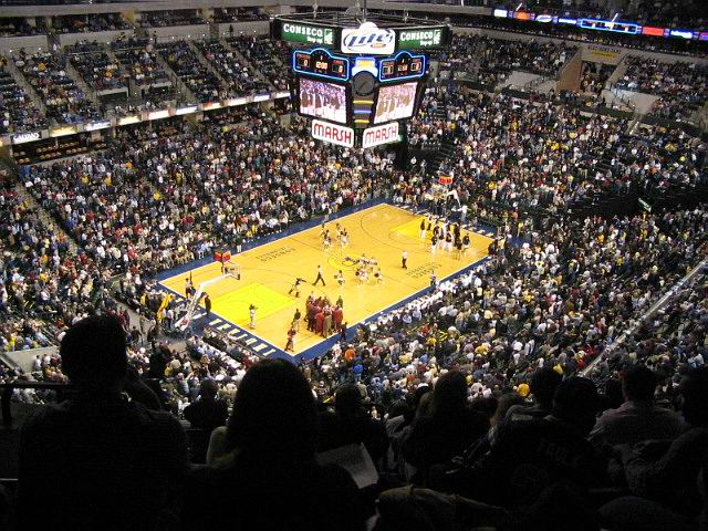 The Indianapolis Pacers vs the Cleveland Cavaliers.