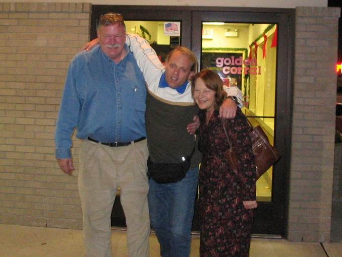 Jim and Nell had to help me out of the buffet after I ate slightly too much...again!.