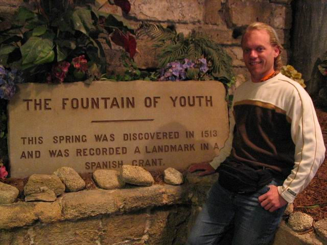 The Fountain Of Youth, St. Augustine, Florida.
